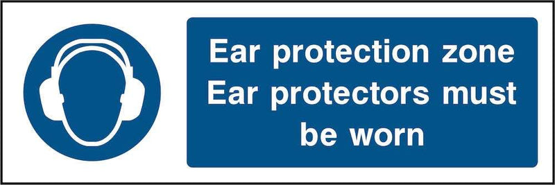 PPE Sign: Ear Protection Zone | Elevate Signs