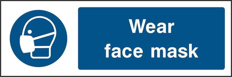 PPE Sign: Wear Face Mask | Elevate Signs