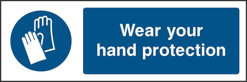 PPE Sign: Wear Your Hand Protection | Elevate Signs
