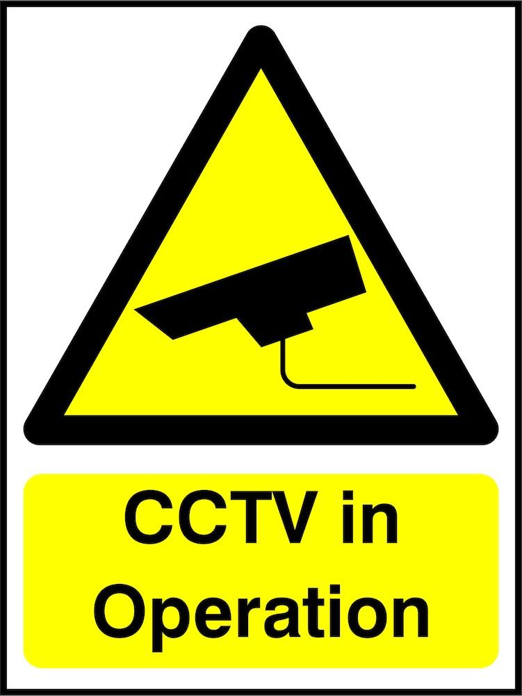CCTV Sign: In Operation