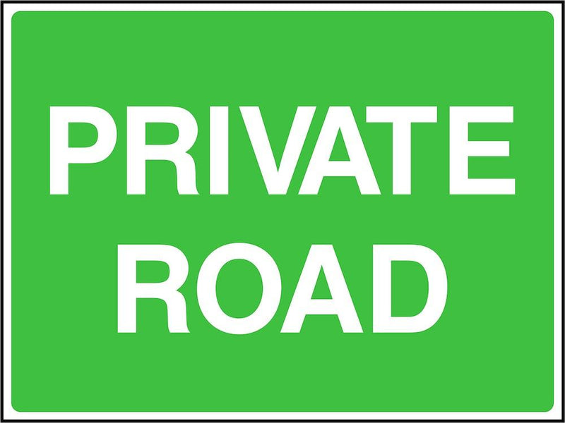 Traffic Sign: Private Road
