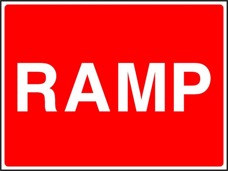 Traffic Sign: Ramp
