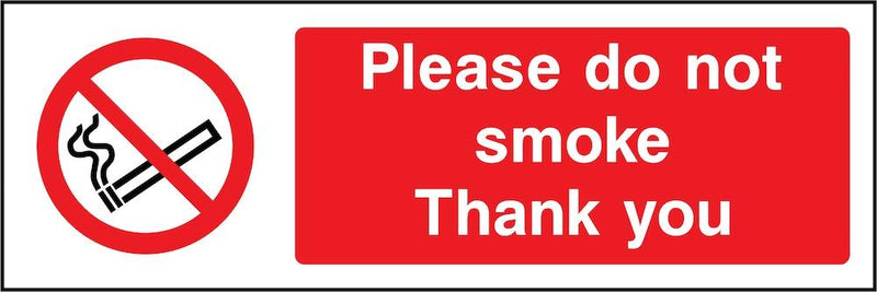Please Do Not Smoke Sign | Elevate Signs