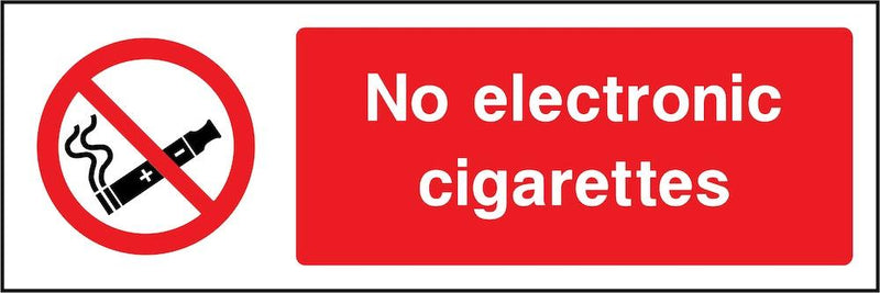 No Electronic Cigarettes Allowed Sign | Elevate Signs