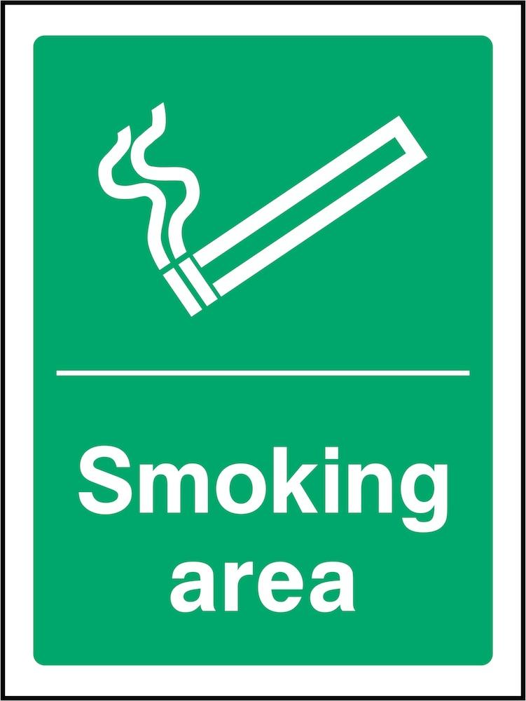 Smoking Area Sign | Elevate Signs