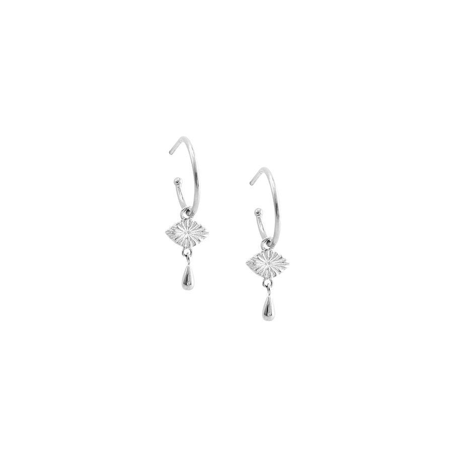 Frances Earrings Sterling Silver - Jolie & Deen