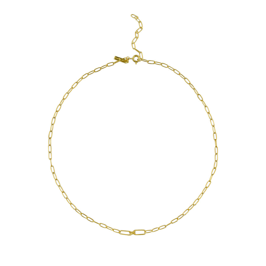 Whitney Necklace Sterling Silver - Gold