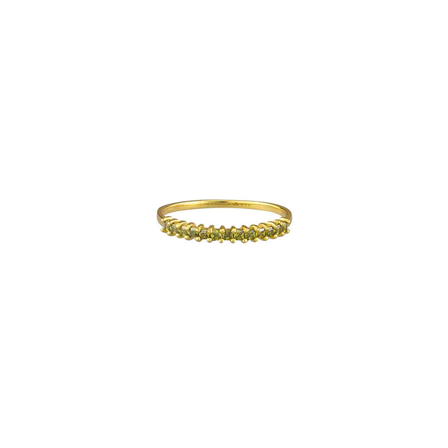 Olive Zoey Ring Sterling Silver - Gold - Jolie & Deen