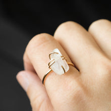 Load image into Gallery viewer, Moonstone Statement Ring