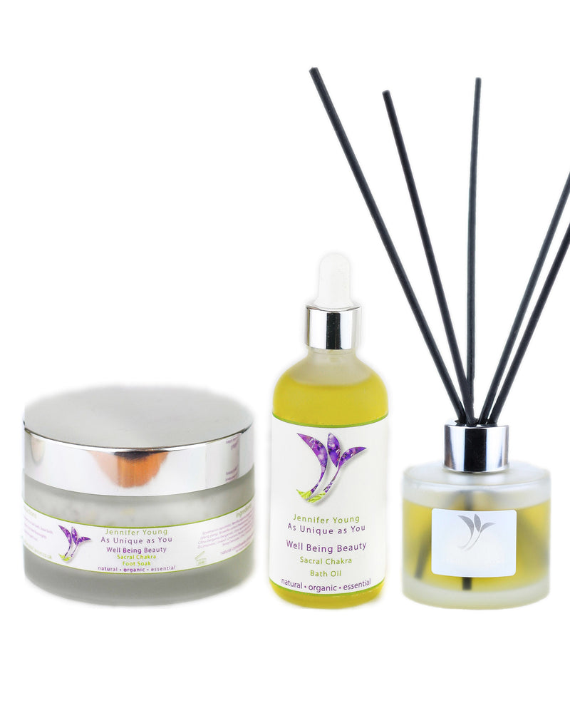 Well Being Beauty - Sacral Chakra Balance Collection