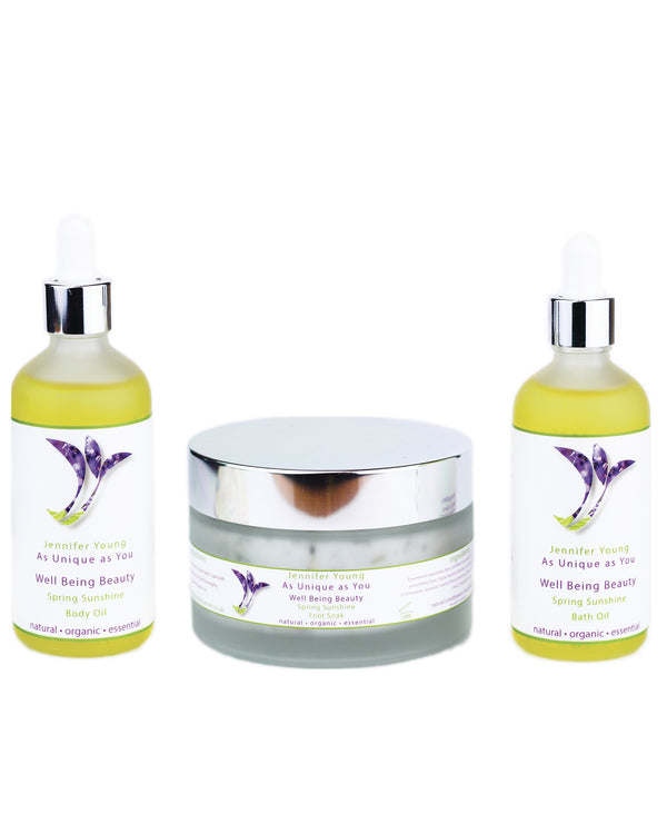 Well Being Beauty - Spring Sunshine Body Collection