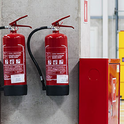 Workplace Fire Protection Equipment