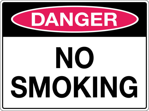 Danger Sign 'No Smoking'