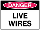 Danger Sign 'Live Wire'