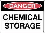 Danger Sign 'Chemical Storage'