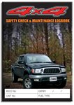 4 x 4 Pre Start Checklist and Maintenance Logbookcover