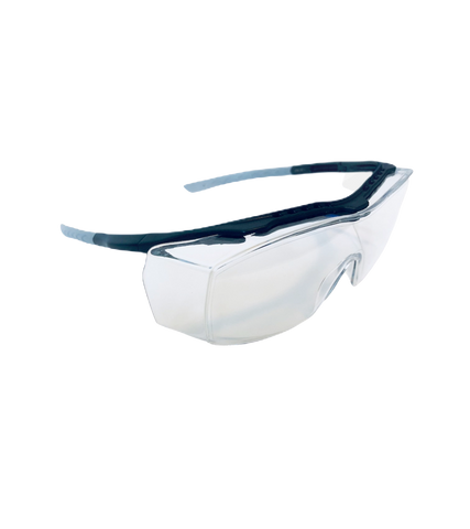 COVERFIT Safety Glasses, clear