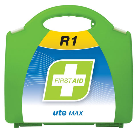 First Aid Kit - R1 Ute Max (Plastic Case)