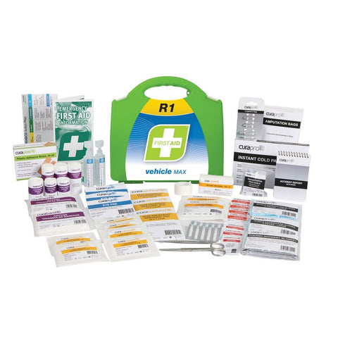 First Aid Kit - R1 Vehicle Max (Plastic Case)