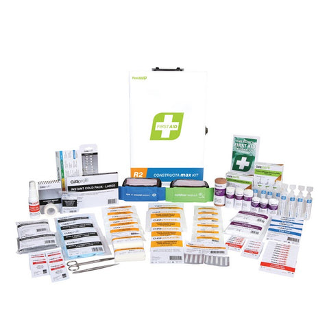 First Aid Kit - R2 Workplace Response Kit (Metal Wall Mount)