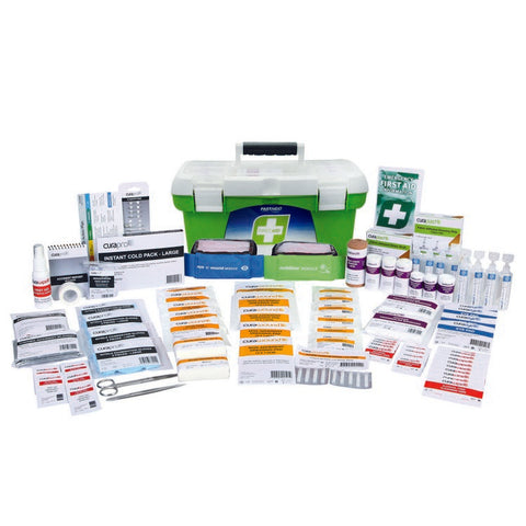 First Aid Kit - R2 Workplace Response Kit (Plastic Tackle Box)