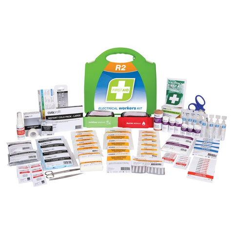 First Aid Kit - R2 Electrical Workers Kit (Plastic Case)