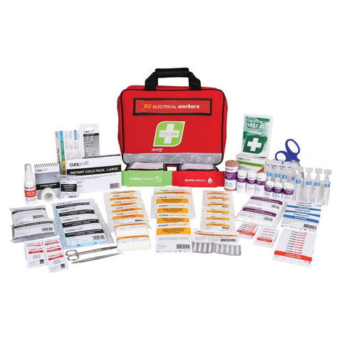 First Aid Kit - R2 Electrical Workers Kit (Soft Pack)