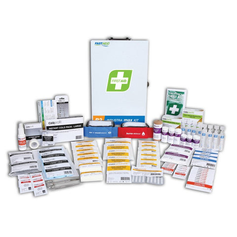 First Aid Kit - R2 Industra Max Kit (Metal Wall Mount)