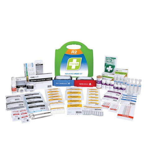 First Aid Kit - R2 Industra Max Kit (Plastic Case)
