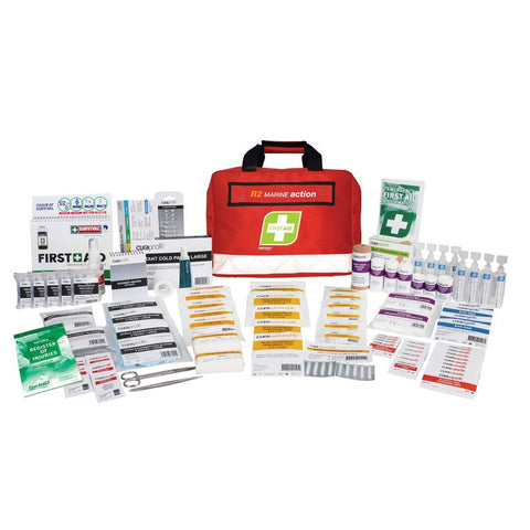 First Aid Kit - R2 Marine Action Kit (Soft Pack)