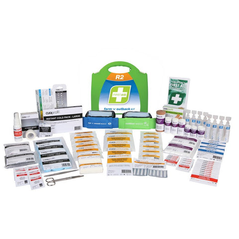 First Aid Kit - R2 Farm & Outback Kit (Plastic Case)