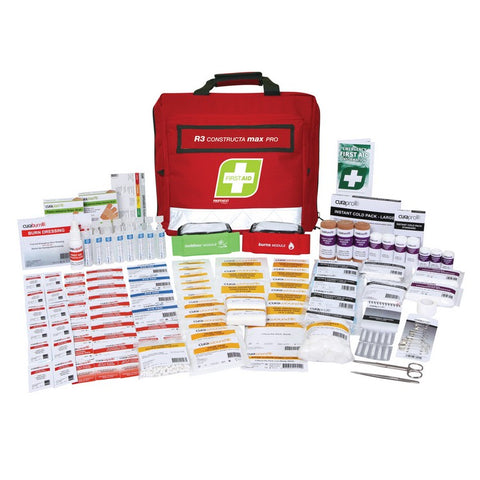 First Aid Kit - R3 Constructa Max Pro Kit (Soft Pack)