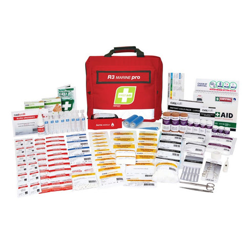 First Aid Kit - R3 Marine Pro Kit (Soft Pack)