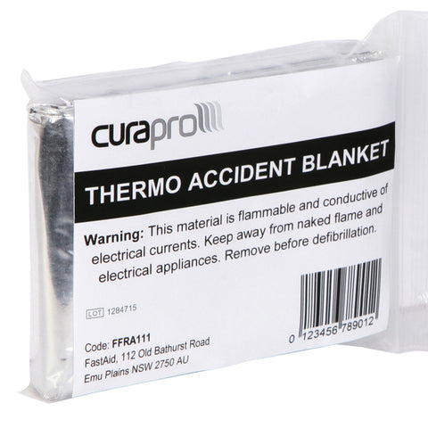 Emergency Shock Blanket Silver