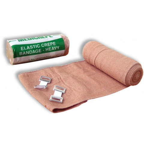 Crepe Bandage Heavy Weight 5 cm Brown