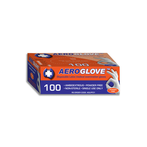 Disposable Gloves Latex Powder Free 100 pk
