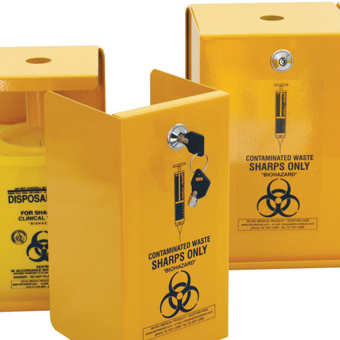 5L Lockable Sharps Safe