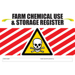 Farm Chemical Use And Storage Register