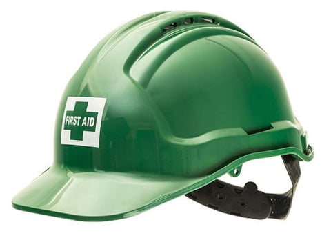 First Aid  Warden Hat - Hard Hat