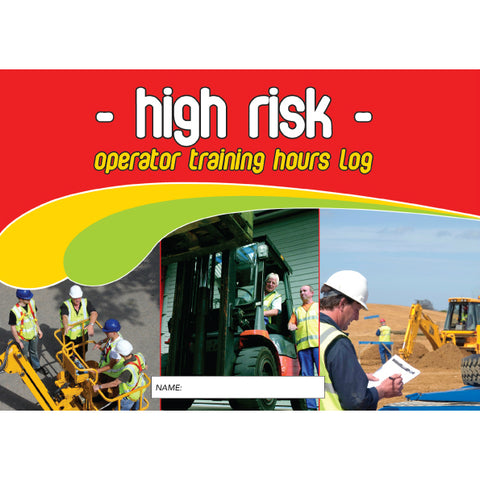 High Risk Operator Training Hours Log