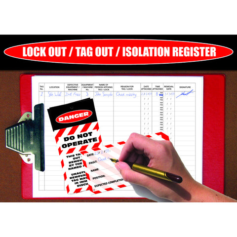 Lock Out Tag Out Isolation Register