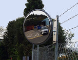 Convex Mirror Outdoor Stainless Steel Heavy Duty
