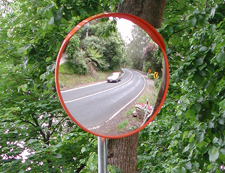 Convex DeLuxe Acrylic Traffic Mirrors
