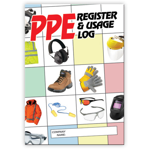 PPE Register and Usage Log