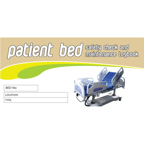 Patient Bed Safety Check and Maintenance Logbook