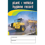 Plant And Vehicle Hygiene Record Logbook