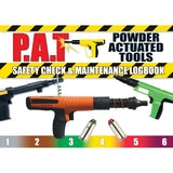 Powder Actuated Tools Safety Check and Maintenance Logbook