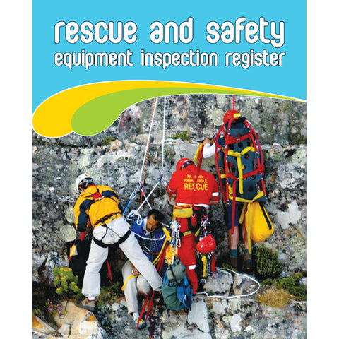 Rescue And Safety Equipment Inspection Register