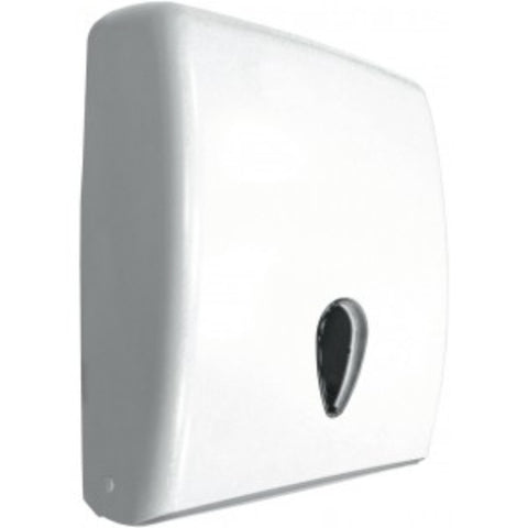 Hand Towel Dispenser Slimline Abs Plastic With Viewing Window
