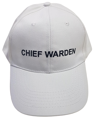 Fire Warden Cap Chief Warden